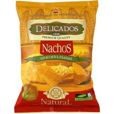 Чипсы кукурузные Nachos Delicados оригинальные 150г