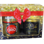 Подарочный набор чая Riche Natur Golden Gift (Lavazza Qualita Oro + Ceylon Sun Valley)