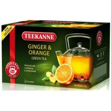 Чай TEEKANNE ДЖИНЖЕР ОРАНЖ/Ginger-Orange 20 пак.*1.5 г