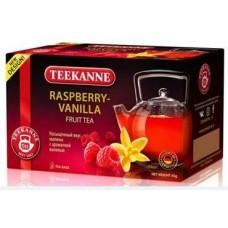Чай TEEKANNE Raspberry-Vanilla гибискус, малина, ваниль 20 пак.