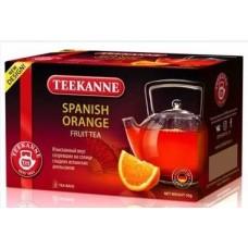 Чай TEEKANNE Spanish Orange гибискус, апельсин, персик 20 пак.