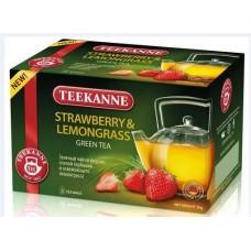 Чай TEEKANNE  СТРОБЕРРИ-ЛЕМОНГР/Strawb-Lemongr 20 пак.