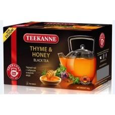Чай TEEKANNE Thyme & Honey черный с чабрецом и медом 20 пак.