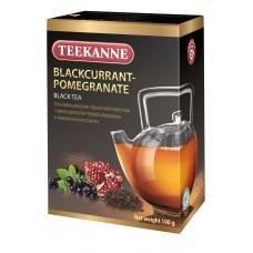 Чай TEEKANNE Blackcurrant-Pomegranate Black Tea 100г лист