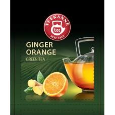 Чай TEEKANNE Ginger & Orange зеленый с имбирем и апельсином 300 пак.