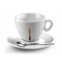 KIMBO Чашка для капучино с блюдцем фарфоровая 150 мл