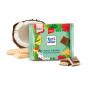 Шоколад Ritter SPORT молочный с кокосом и вафлями 100г