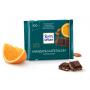 Шоколад Ritter SPORT темный с миндалем и апельсином 100г