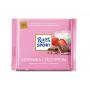 Шоколад Ritter SPORT молочный с клубнично-кремовой начинкой 100г